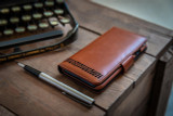 iPhone 13 real Leather Magnetic Flip Phone Case