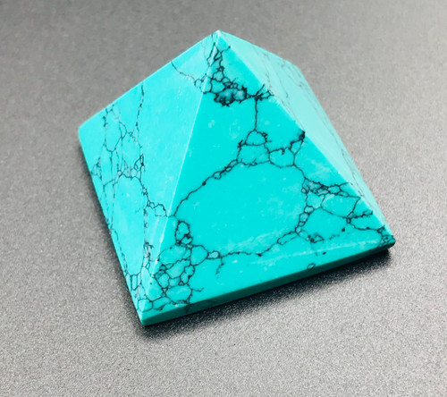 Turquoise Crystal Pyramid