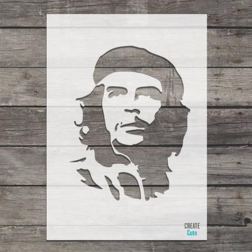 Che Guevara stencil /famous cuban revolutionist