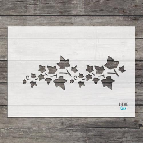 Bindweed Leaves Stencil