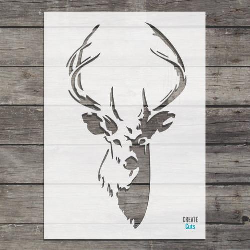 Stag Deer stencil