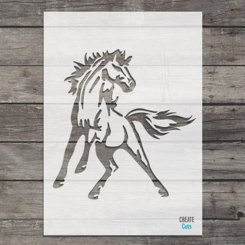 Horse Stencil