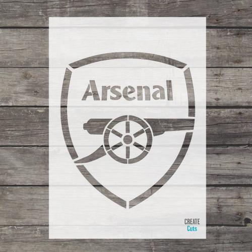 Arsenal Stencil Football Team