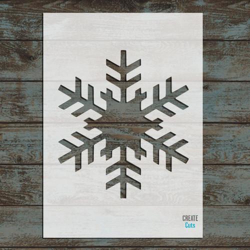 Christmas Snowflake Stencil