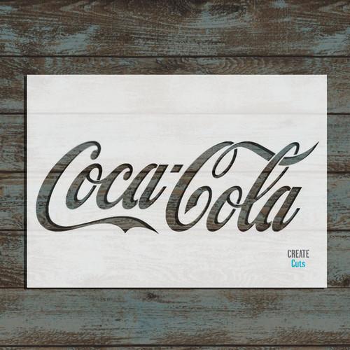Coca Cola Stencil