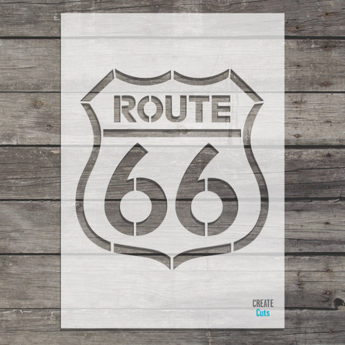 Route 66 Stencil