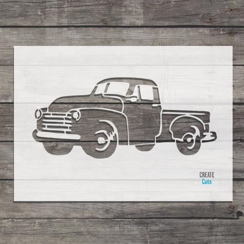 America Truck Stencil