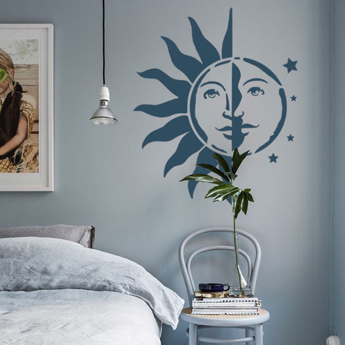 Sun Moon Wall Decor