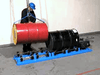 1-5154 LOAD WITH 41 MORSE DRUM ROLLER Load a Stationary Drum Roller using your hoist or crane with model 41 Drum Lifting Hook (shown)