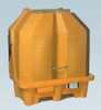 Ultra-HardTop P2 Spill Containment Pallet - 1082 - 2 Drum - No Drain