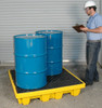 UltraTech Spill Containment Pallet with drum