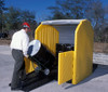 UltraTech HardTop P4 Plus 4 Drum Containment Pallet 9637 - With Drain