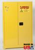 45 Gallon Flammable Storage Cabinet - Manual Close