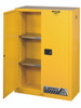 45 Gallon Flammable Cabinet Open Door