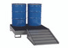 Steel Spill Containment Platform w/Ramp