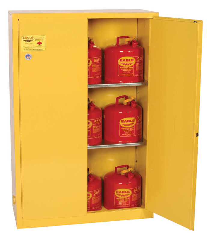​Interstate Products Inc. (IPI) Eagle Flammable Storage Cabinets – Protection for Your Flammable Fluids