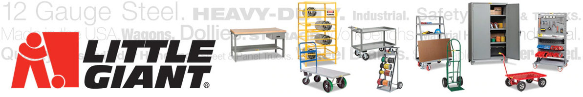 New Line of Little Giant Service Carts at Interstate Products