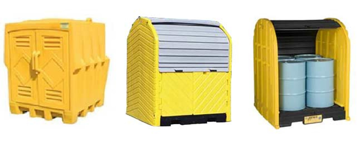 IPI – Provider of the Best Outdoor Drum Storage Sheds