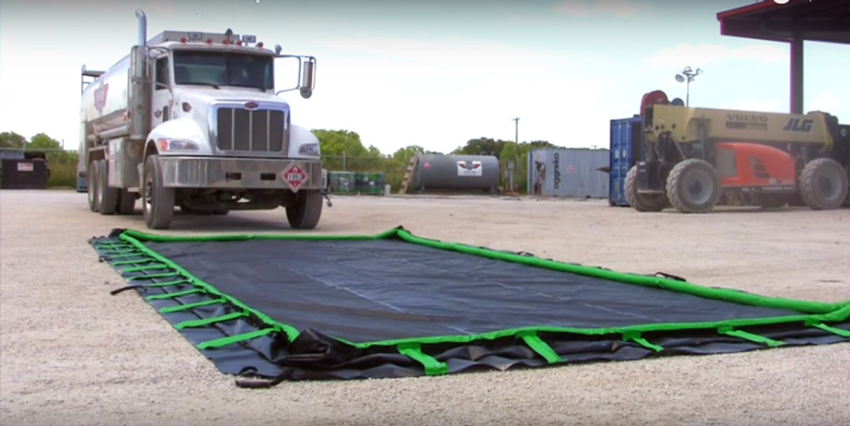 Secondary Containment News - How to Choose a Spill Berm - Ultratech, Justrite, Eagle, Husky and an IPI private brand models