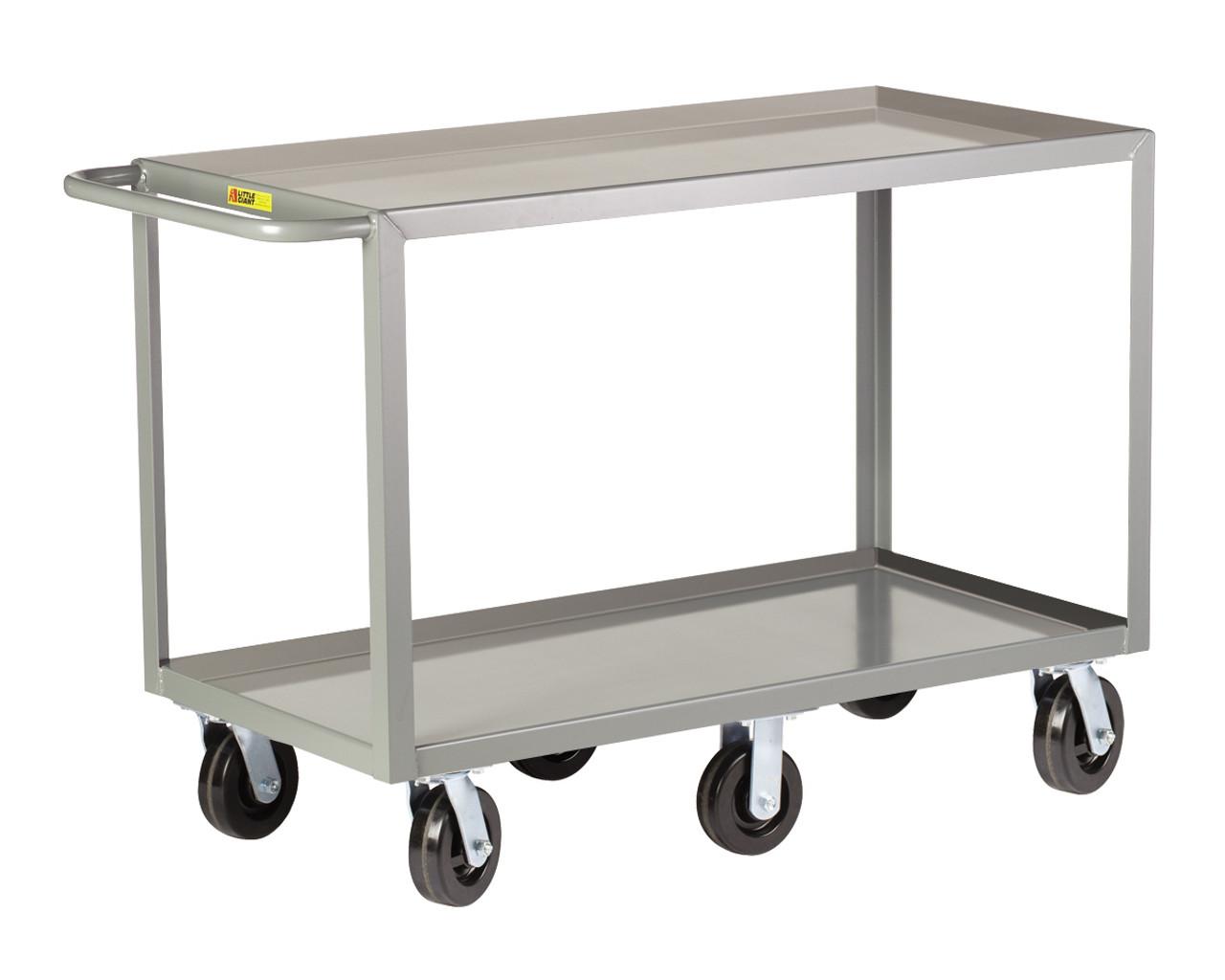 6 Wheeled Heavy Duty Shelf Trucks