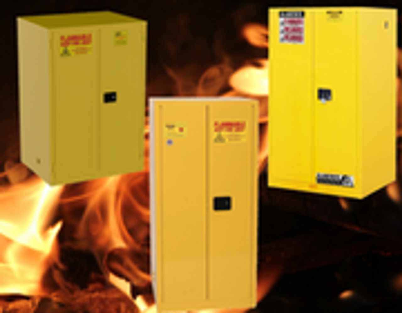 60 Gallon Flammable Cabinets