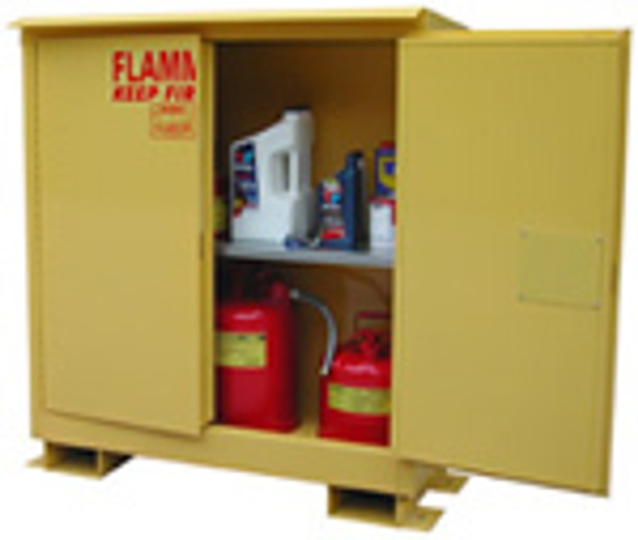 Outdoor  Flammable Storage