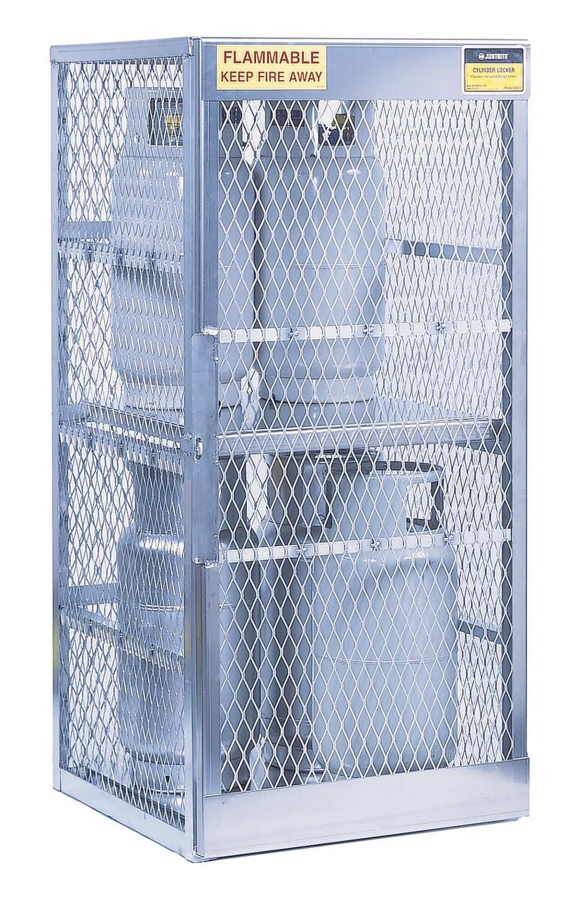 Justrite Cylinder Lockers