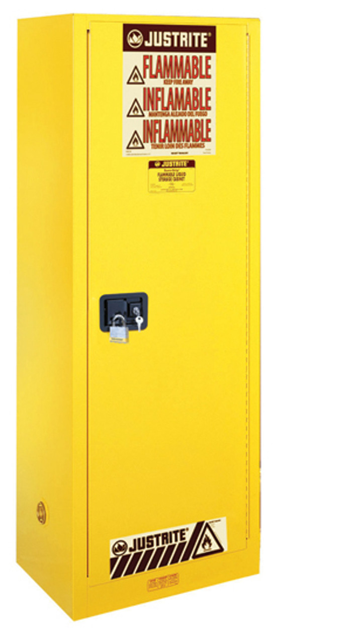 Justrite Slimline Flammable Safety Cabinets