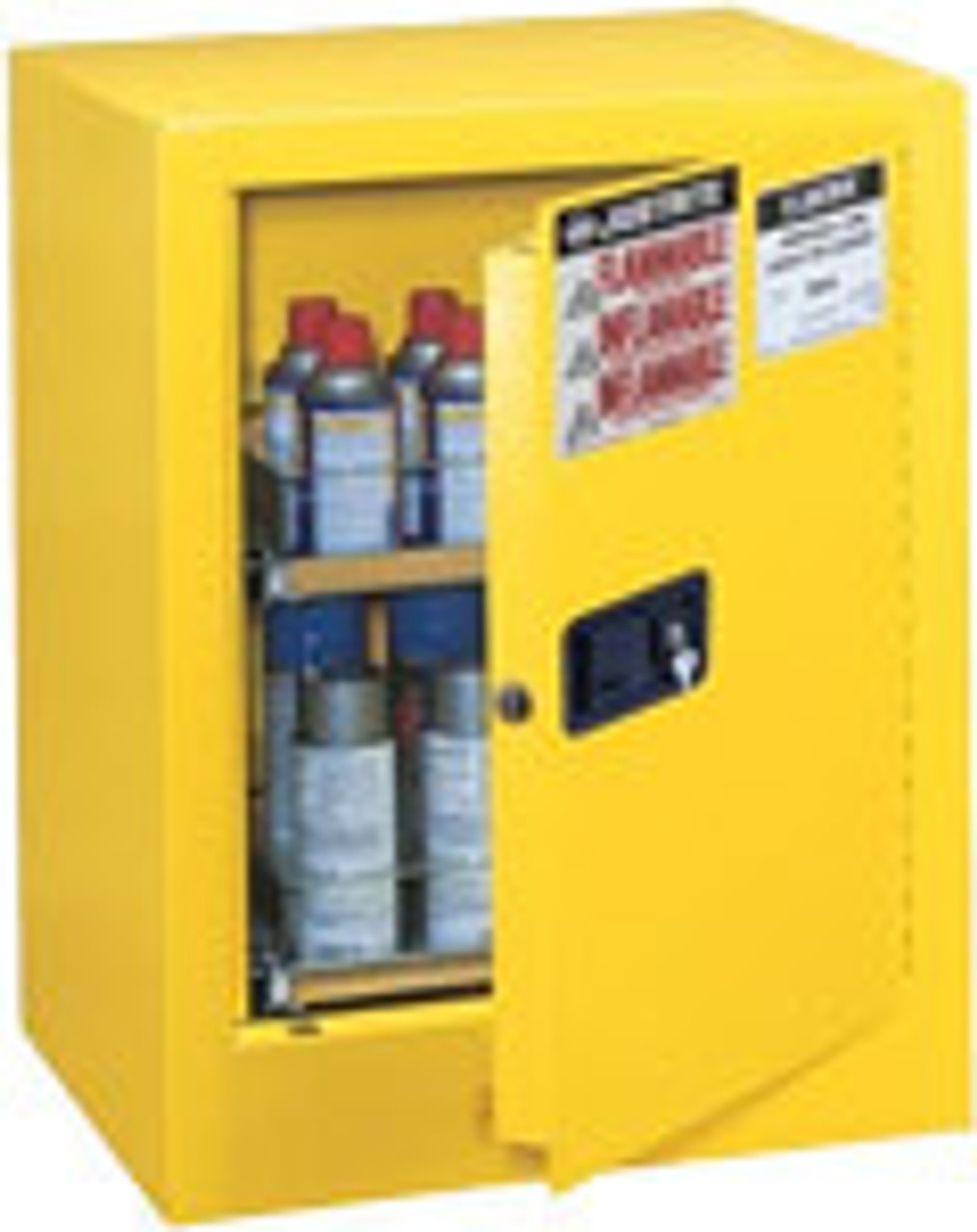 Justrite Countertop Flammable Safety Cabinets