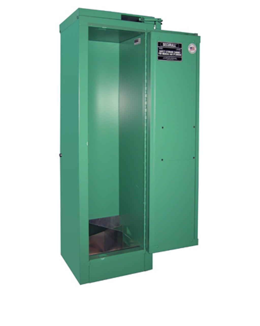 Medical Oxygen Cylinder Storage Cabinet - Fire Lined - 2-4 Cylinders