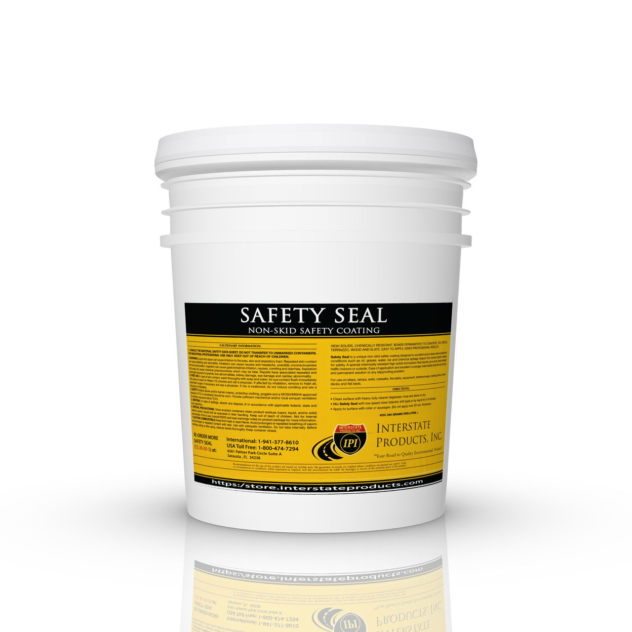 Anti Slip Indoor Floor Coating Pre Mixed Safety Seal