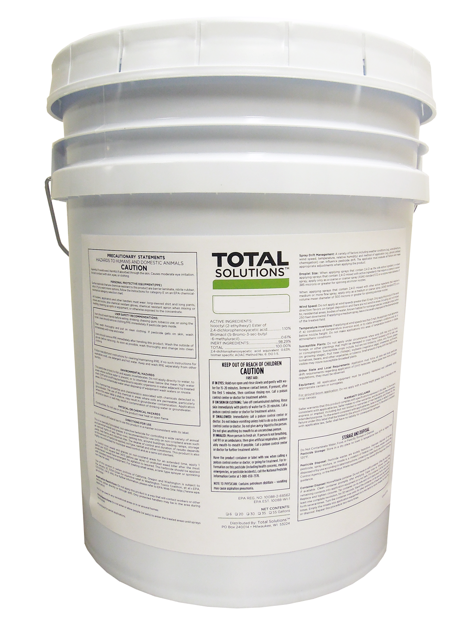 Pond Weed Killer - Non-Selective - Eliminator - 5 Gallons