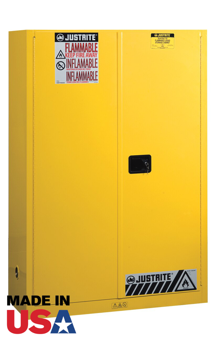 Justrite 894500 45 Gal Flammable Safety Cabinet Manual