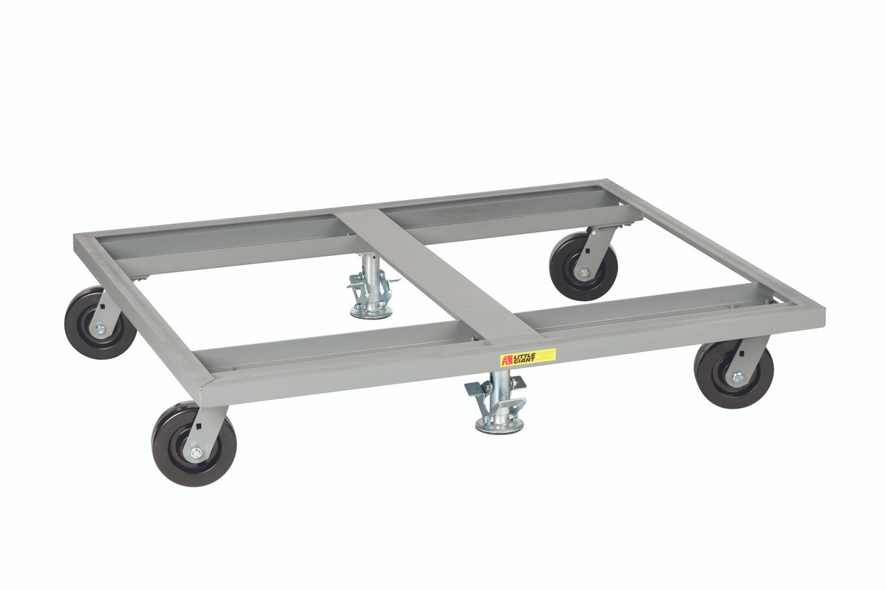 Little Giant Pallet Dolly with Floor Locks, 40 x 48, PD-4048-6PH2FL