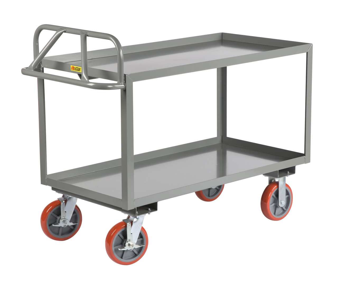 Heavy Duty Ergonomic Shelf Trucks