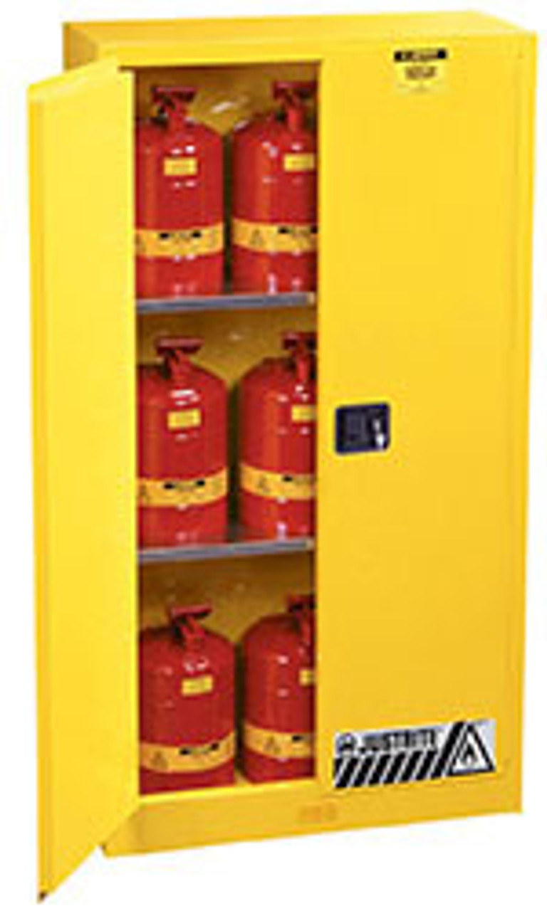 Standard Justrite Flammable Safety Cabinets
