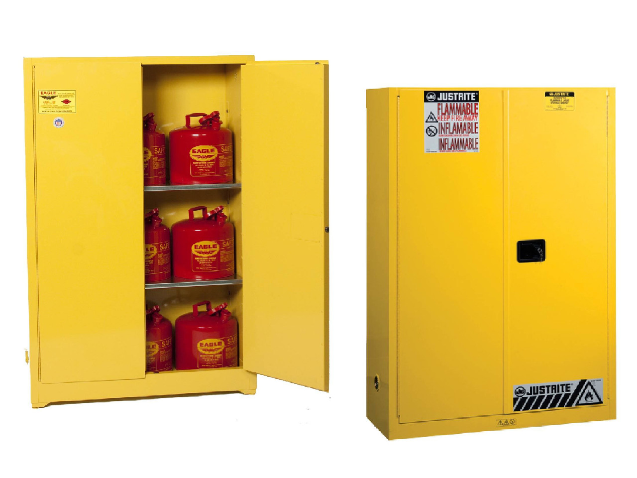 Flammable Cabinets - Safety Storage