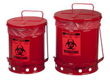 BioHazard Waste Cans & Bags