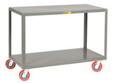 Mobile Tables - 2 Shelves