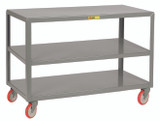 Mobile Tables - 3 Shelves