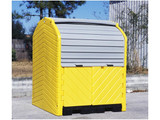 UltraTech Outdoor Hard Top Drum Storage