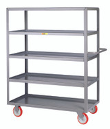 Welded 5 Shelf Service Carts