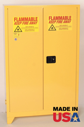 "Eagle 1947XLEGS 45 Gallon Flammable Safety Cabinet w/ 4"" Legs"