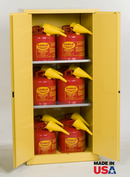Eagle 60 Gallon Safety Cabinet w/Safety Cans