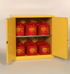 60 Gallon Workbench Safety Cabinet