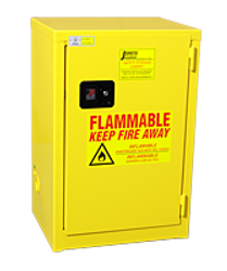Jamco Flammable Slimline Cabinet - 12 Gallons - Self Close
