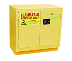 Eagle 4510 Flammable Safety Cabinet - 45 Gallon - Self Close