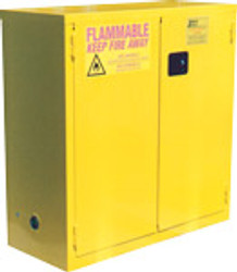 Jamco BS30YP - 30 Gal Flammable Safety Cabinet - Self Close