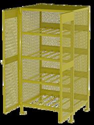 Jamco Horizontal Cylinder Cabinet - Twelve 20-48 lb Cylinders