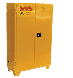 Jamco 90 Gallon Flammable Cabinet - Forkliftable - Self Close